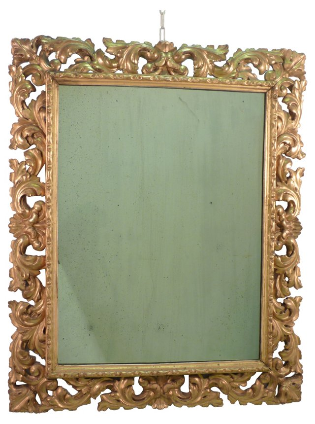 Carved & Gilded Mirror
