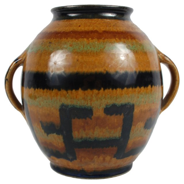 European Glazed Vase