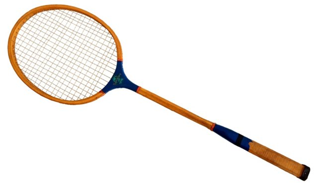 Blue Ribbon Badminton Racquet