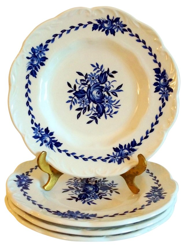 Bread & Butter Plates, Set of 4