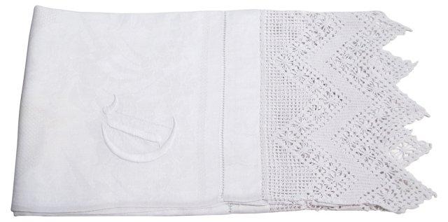 D Monogram Kitchen Towel
