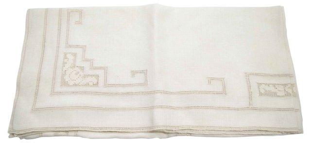 Ecru Tablecloth