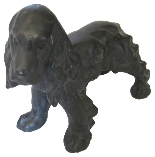 French Dog Sculpture