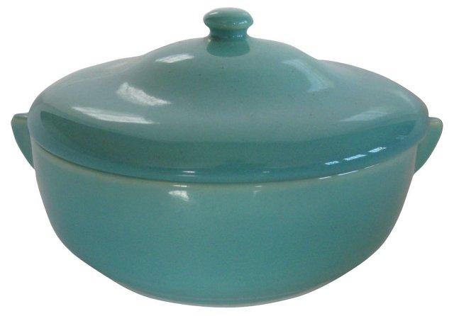 1930s Gladding McBean Lidded Bowl