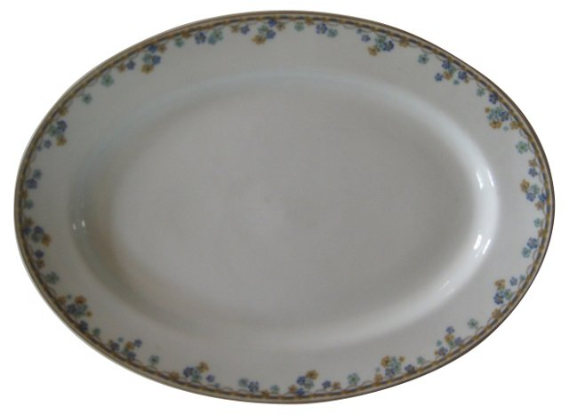 Haviland Limoges Porcelain  Platter