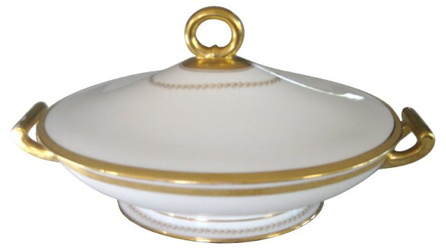 Ginori  Porcelain Art Deco Tureen