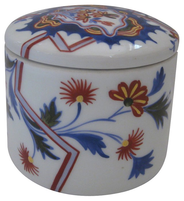 Tiffany Le Tallec French Porcelain Box