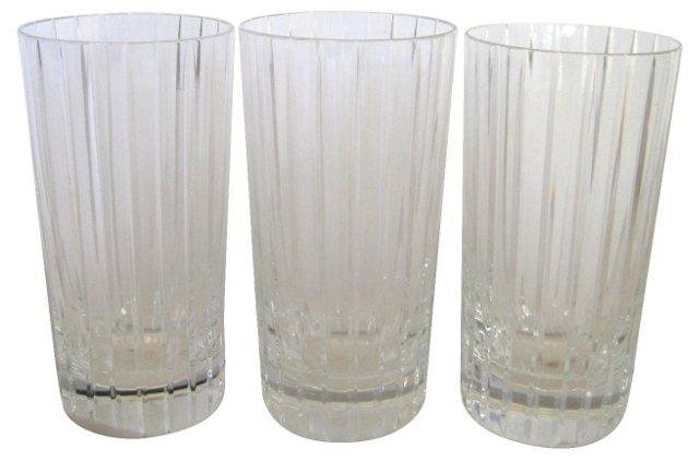 Baccarat  Harmonie Glasses, S/3