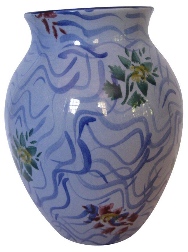 Tiffany & Co. English Faience Vase