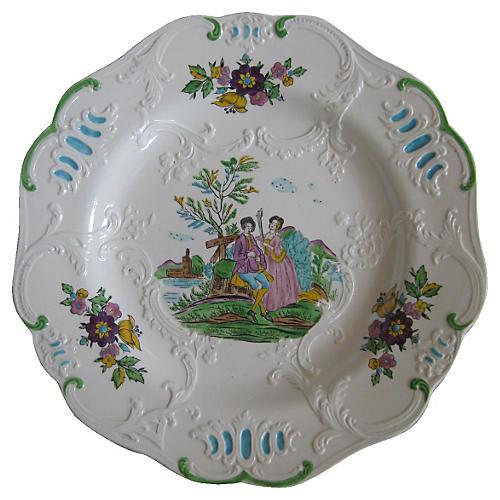 Minton English Plates, S/4