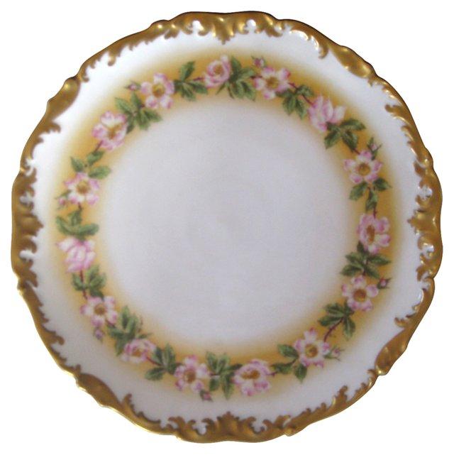Limoges Gilt Porcelain Platter