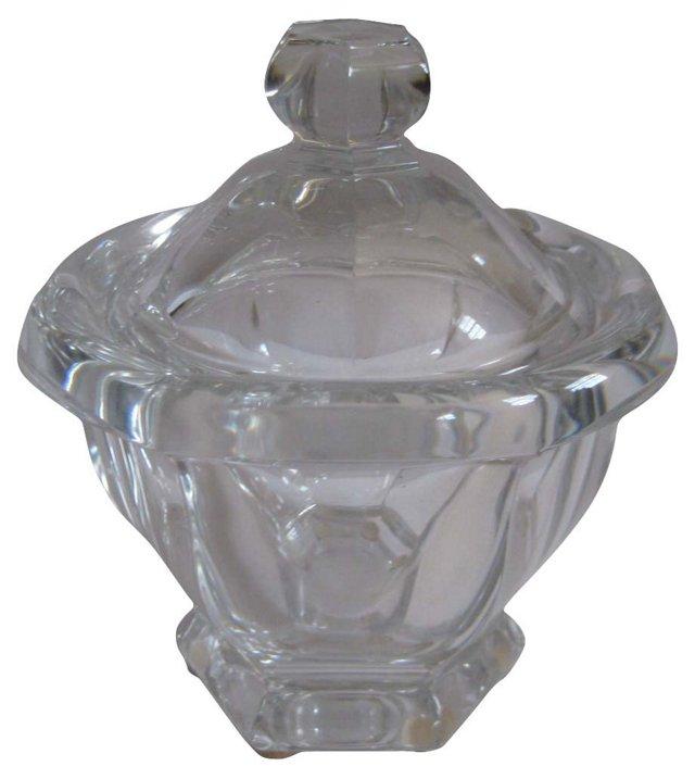 Baccarat Crystal   Candy Jar