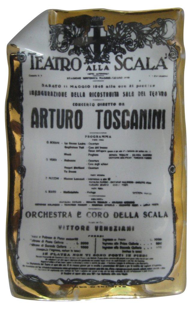 Fornasetti Toscanini Tray