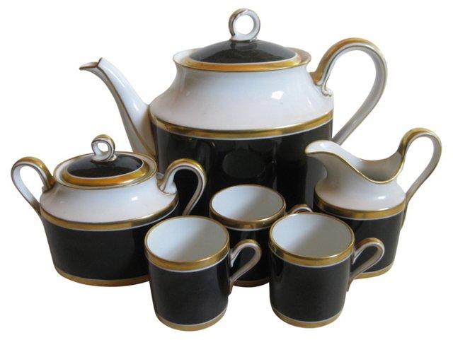 Ginori Porcelain Coffee Set, 6 Pcs