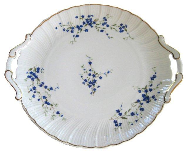 Bernardaud  Limoges  Gilded  Platter