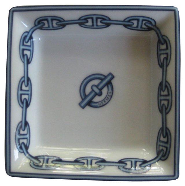 Hermès Porcelain Tray w/ Box