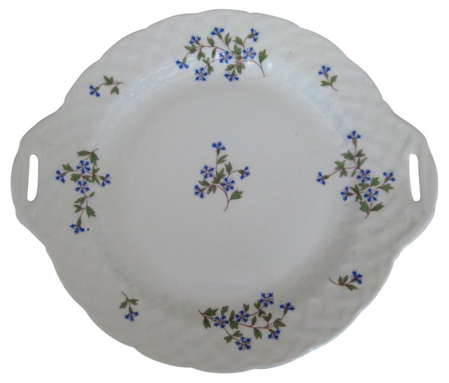 Bernardaud  Limoges    Handled  Platter