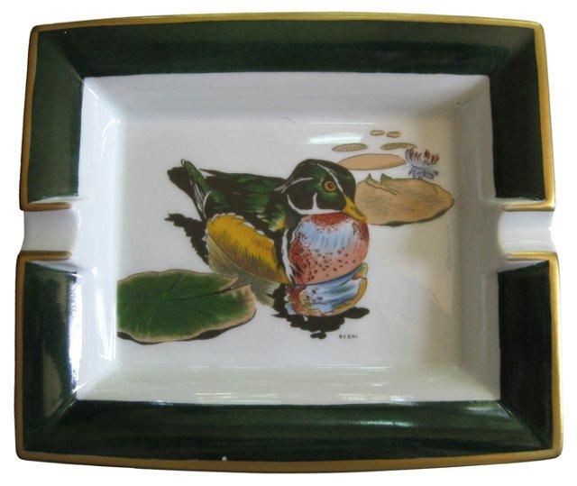 Hermès  Mallard Duck  Cigar  Ashtray