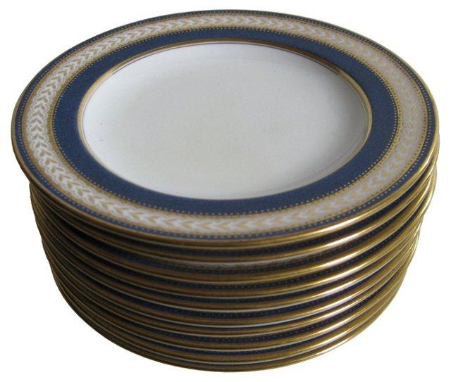 Tiffany & Co. Spode  Plates, S/10