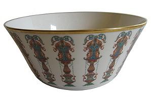American Gilt Porcelain Serving Bowl*