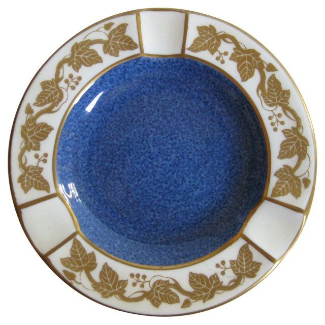 Wedgwood Gilded Porcelain Ashtray