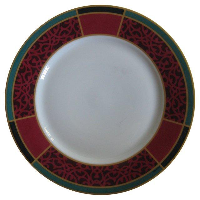 Hermes  French Porcelain  Plate