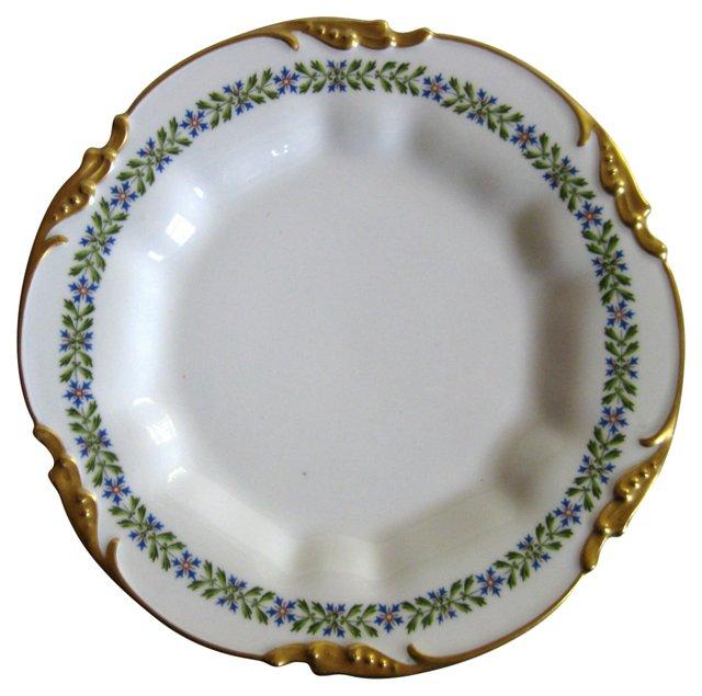 Antique  Pouyat Limoges Gilt Plate