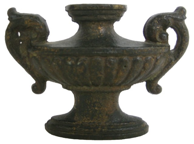 Antique  Urn Doorstop