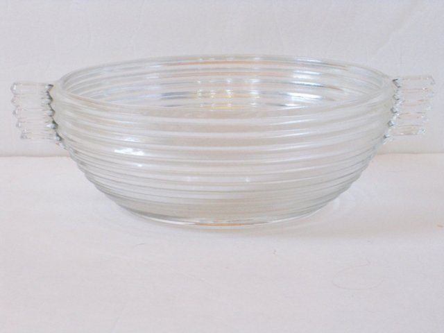 1930s   Glass Serving Bowl