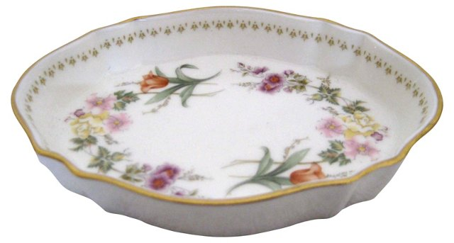 Wedgwood Floral Tray