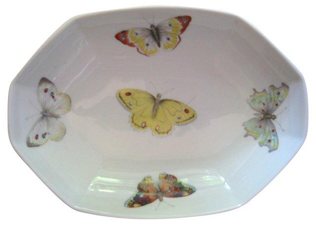 Bernardaud   Limoges Butterfly Bowl