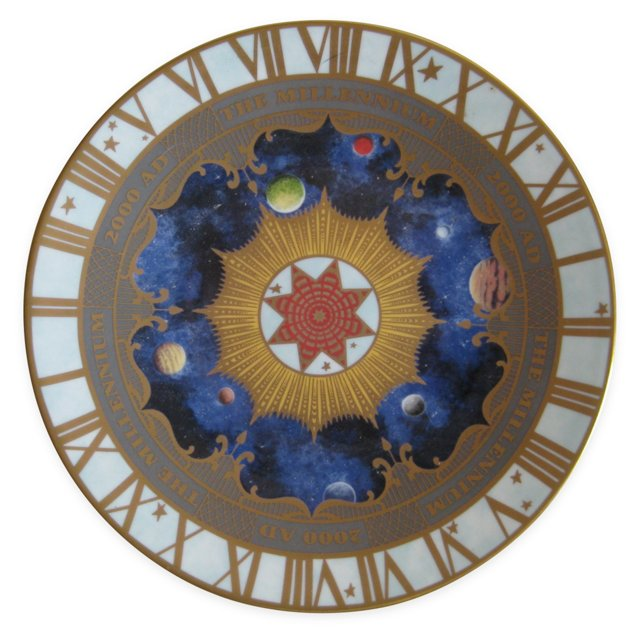 Royal  Worcester  Millennium  Plate