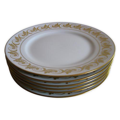 Ginori Italian Porcelain Plates, S/6