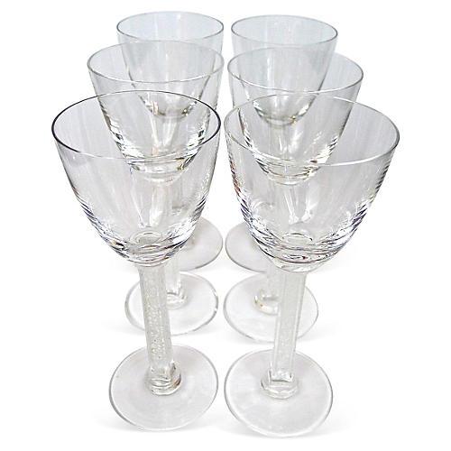 Lalique Phalsbourg Glasses, S/6