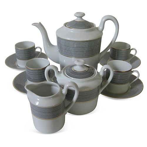 Limoges French Porcelain Espresso Set