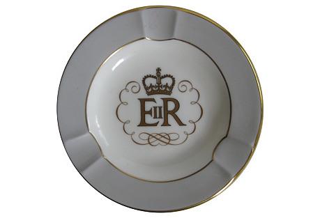 Wedgwood Queen Elizabeth II Ashtray