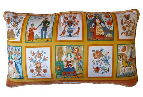 Hermès Imagerie Scarf Pillow