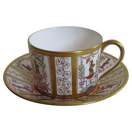 Tiffany & Co. Le Tallec Cup & Saucer