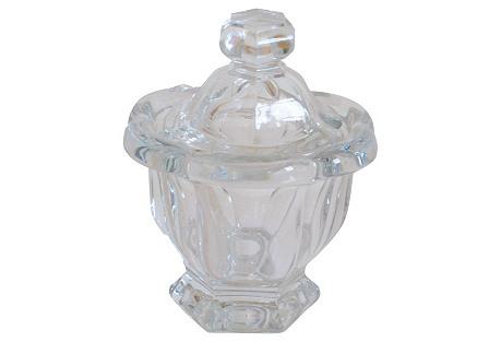 Baccarat   Crystal  Jam Pot