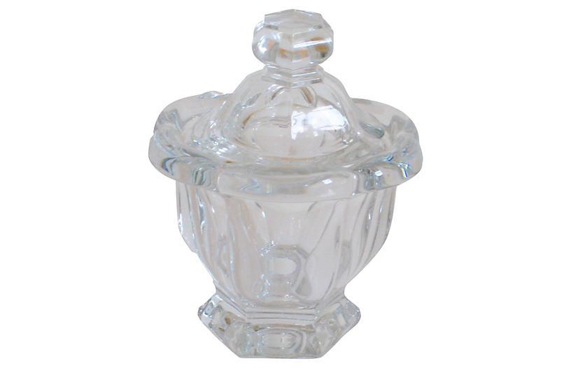 Baccarat French Crystal Jam Pot