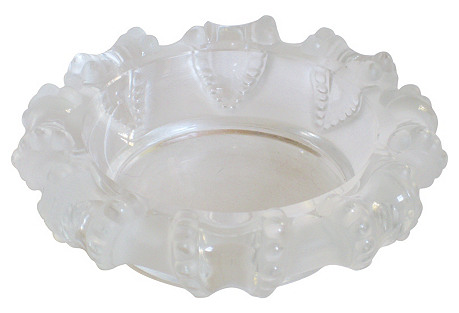 Lalique Art Deco Cigar   Ashtray