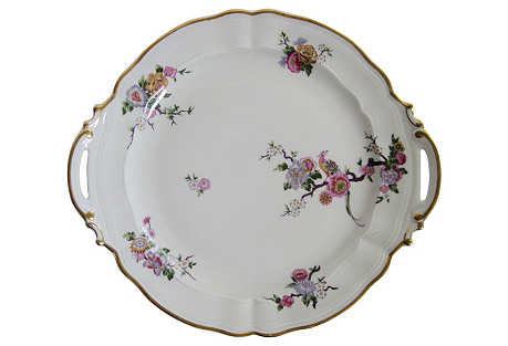 Bernardaud Limoges Cake      Platter