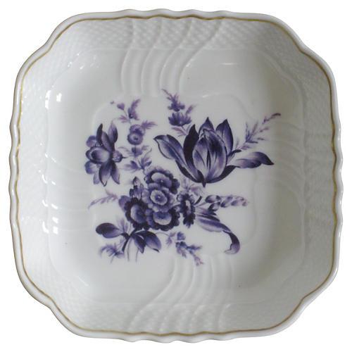Ginori Gilt Porcelain Tray