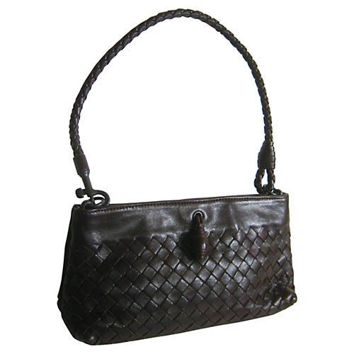 Bottega Veneta Woven Leather Pochette