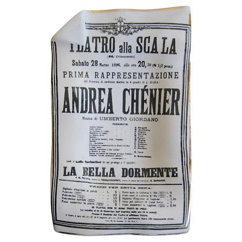 Fornasetti Italian Opera Tray