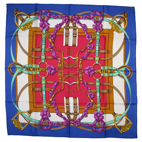 Hermès Grand Manege Scarf