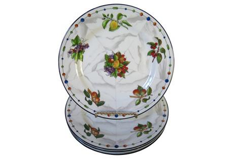 Taitu Porcelain Plates,     S/4