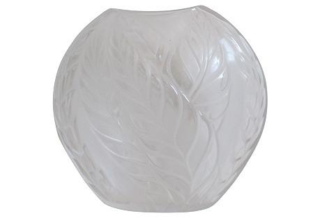 Lalique French Art Deco  Vase