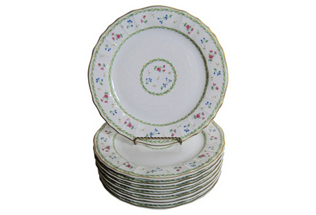 Bernardaud  Limoges  Artois  Plates, S/8