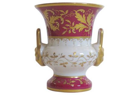 Le Tallec Paris Gilt Porcelain Vase